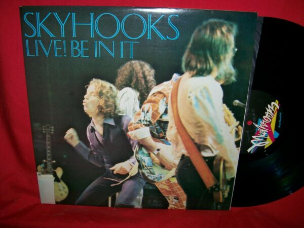 SKYHOOKS Live! Be in it Double LP AUSTRALIA 1978 MINT First Pressing Mushroom