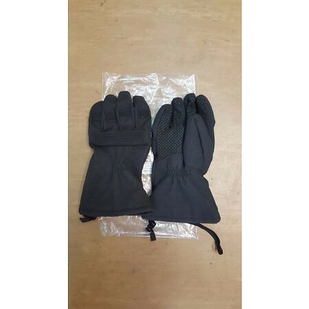img-New Genuine British Army Issue ECW Black Outer Thermal Winter Gloves Size Medium