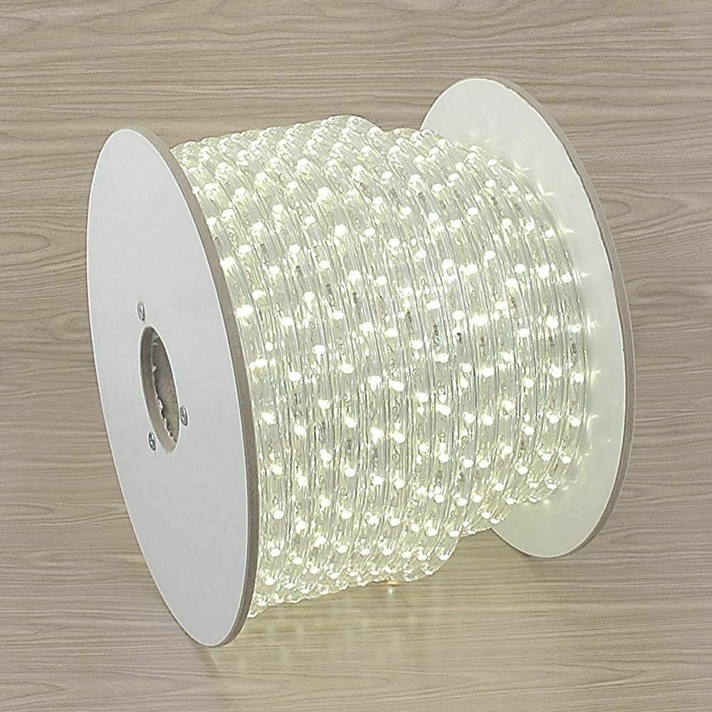 "Led Rope Light Tinsel Bauble: 150 Foot LED Rope Light Spool, 1/2"" Diameter, 120 Volt"