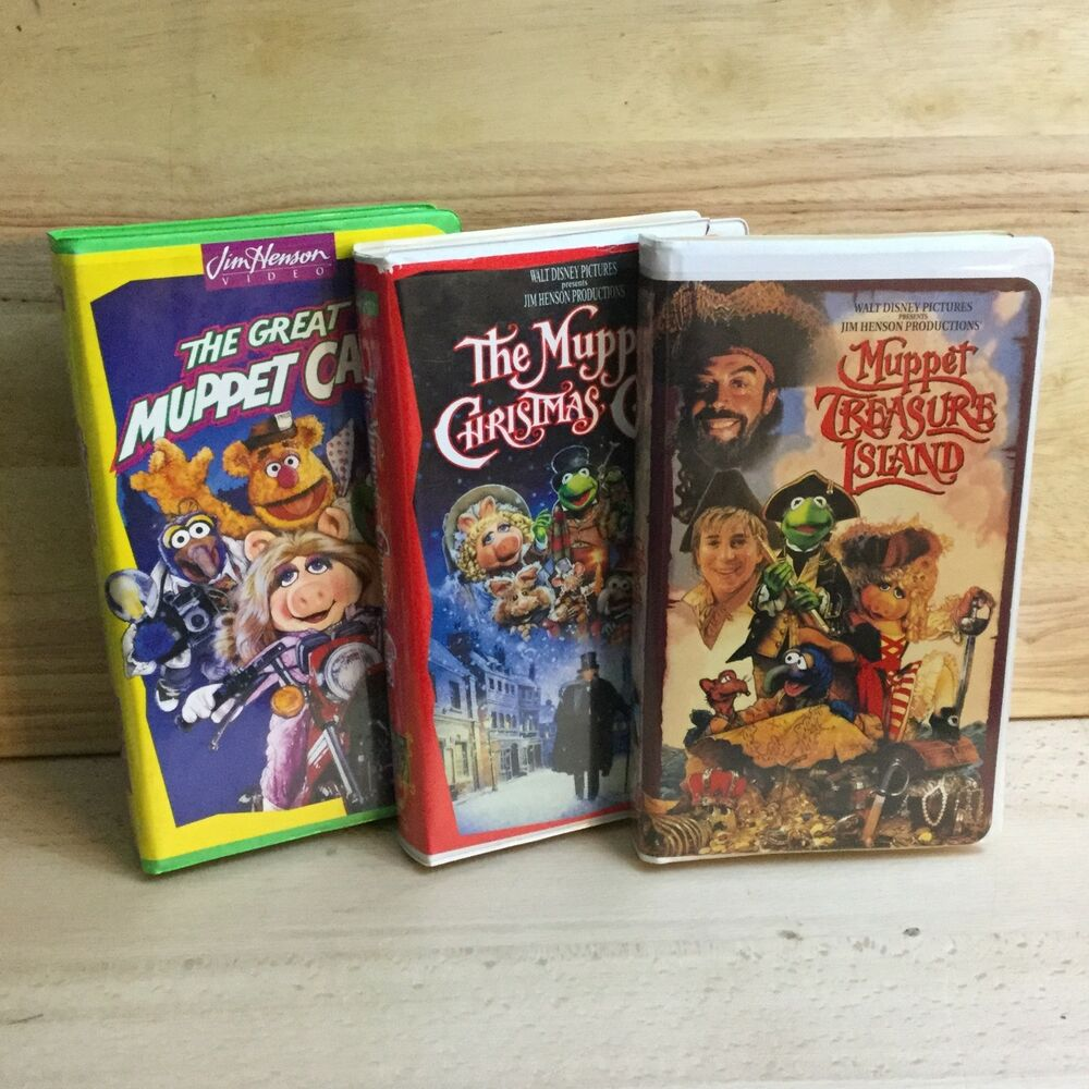the muppet christmas carol vhs