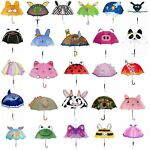 Kidorable Kids Childrens 100% Nylon Butterfly Umbrella Brolly New