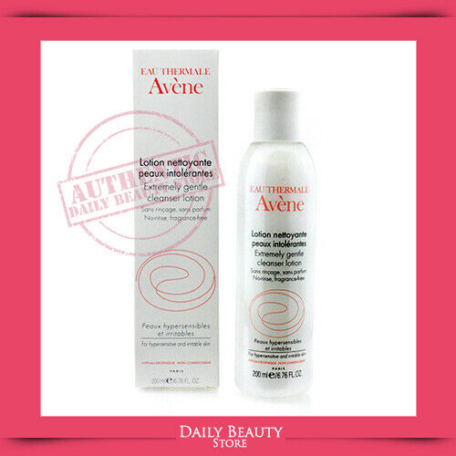 Avene Extremely Gentle Cleanser Lotion 200ml 6.76oz Fast Ship