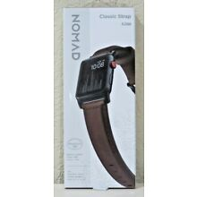 Nomad - Classic Strap - Horween Leather for Apple Watch 42mm & 44mm (Brown) NEW!