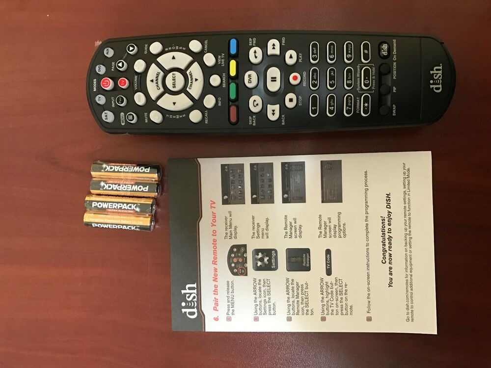 Dish Network 400 Joey Hopper Uhf Satellite Receiver Learning Remote