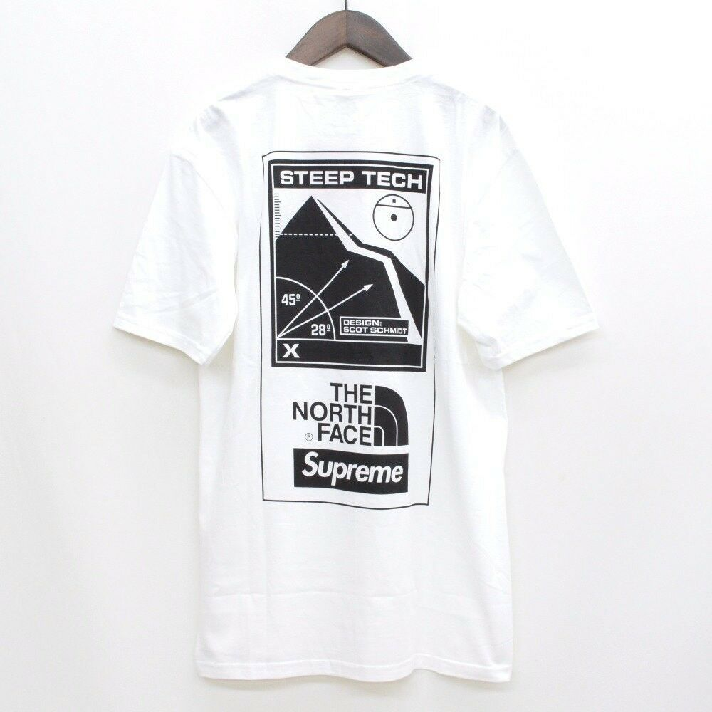 Details About Supreme The North Face 16ss Steep Tech T Shirt