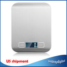 5kg Electronic Digital Kitchen Scale Cooking High Precision Measure Balance