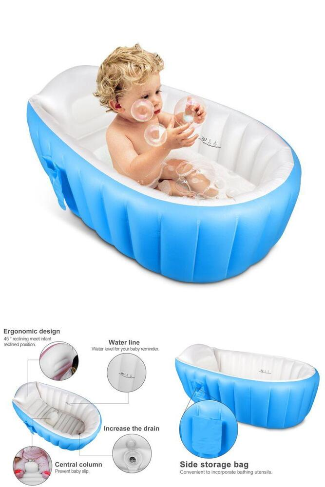 Infant Newborn Toddler Tub Baby Bath Seat Shower Bathing Bathtub ...