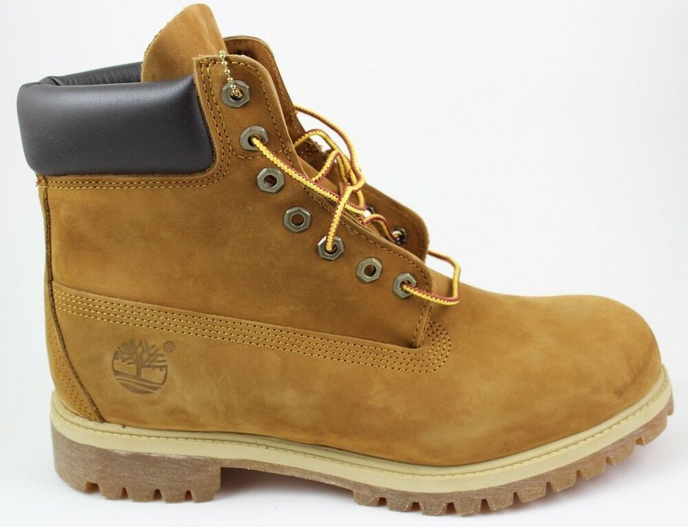 3431bbbbd1a5 Details about Timberland Men s 6 inch Premium Waterproof Boots 72066 Rust  Brand New Leather