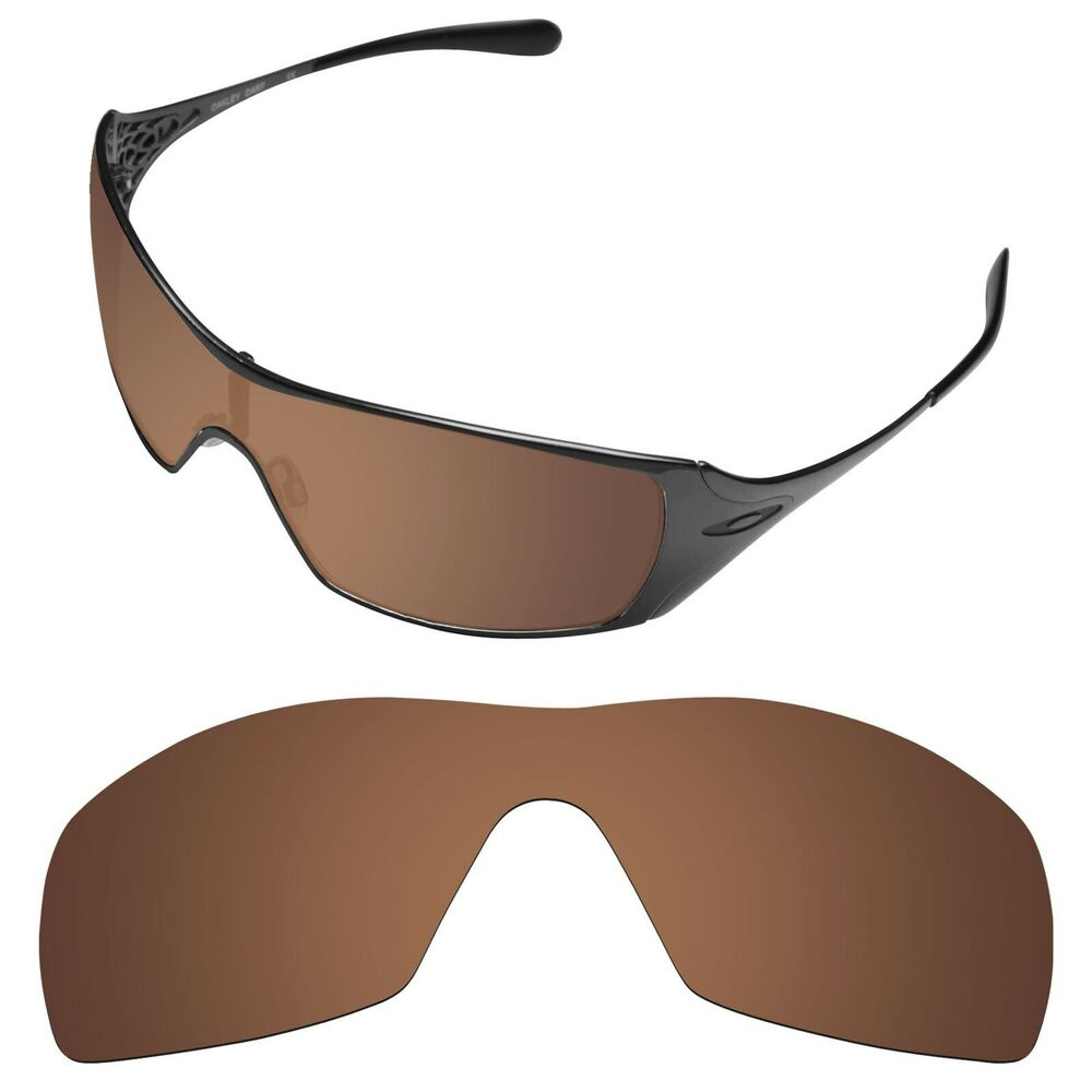 2ed1a0cf040 Details about Tintart Polarized Replacement Lenses for-Oakley Dart Nut Brown  (STD)