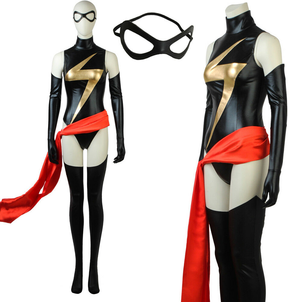 ms.marvel costume captain marvel carol danvers costume avengers