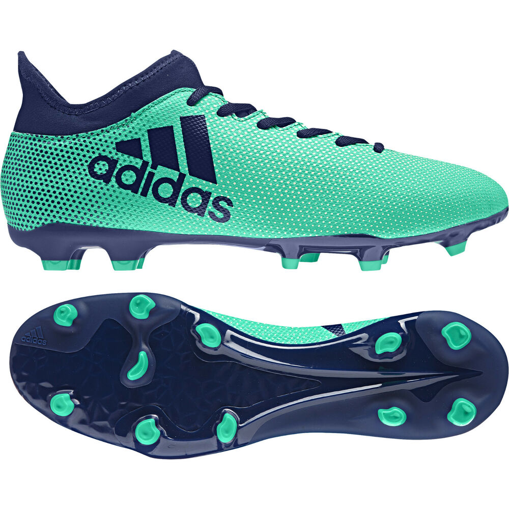15a68acbe3c Details about Adidas Men Boots Shoes Soccer Cleats X 17.3 Firm Ground  Football Boots CP9194