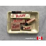RAW ROLLING PAPER+TRAY COMBO