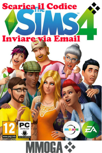 The Sims 4 - PC MAC EA Origin Scarica gioco base originale consegna e-mail - IT