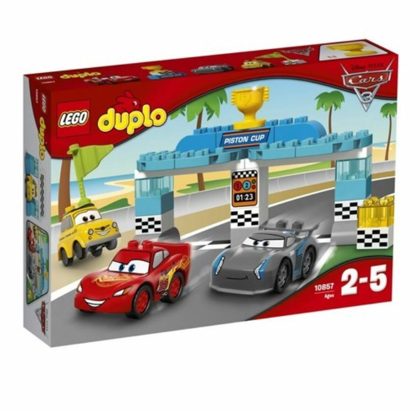 Details About Lego Duplo 10857 Creative Piston Cup Race 2017 Version Free Shipping