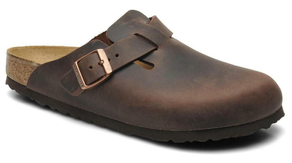 Details about Birkenstock Boston Oiled Leather Sandals Womens Slides Clogs  Thongs Flip-Flops cbaaa9eff