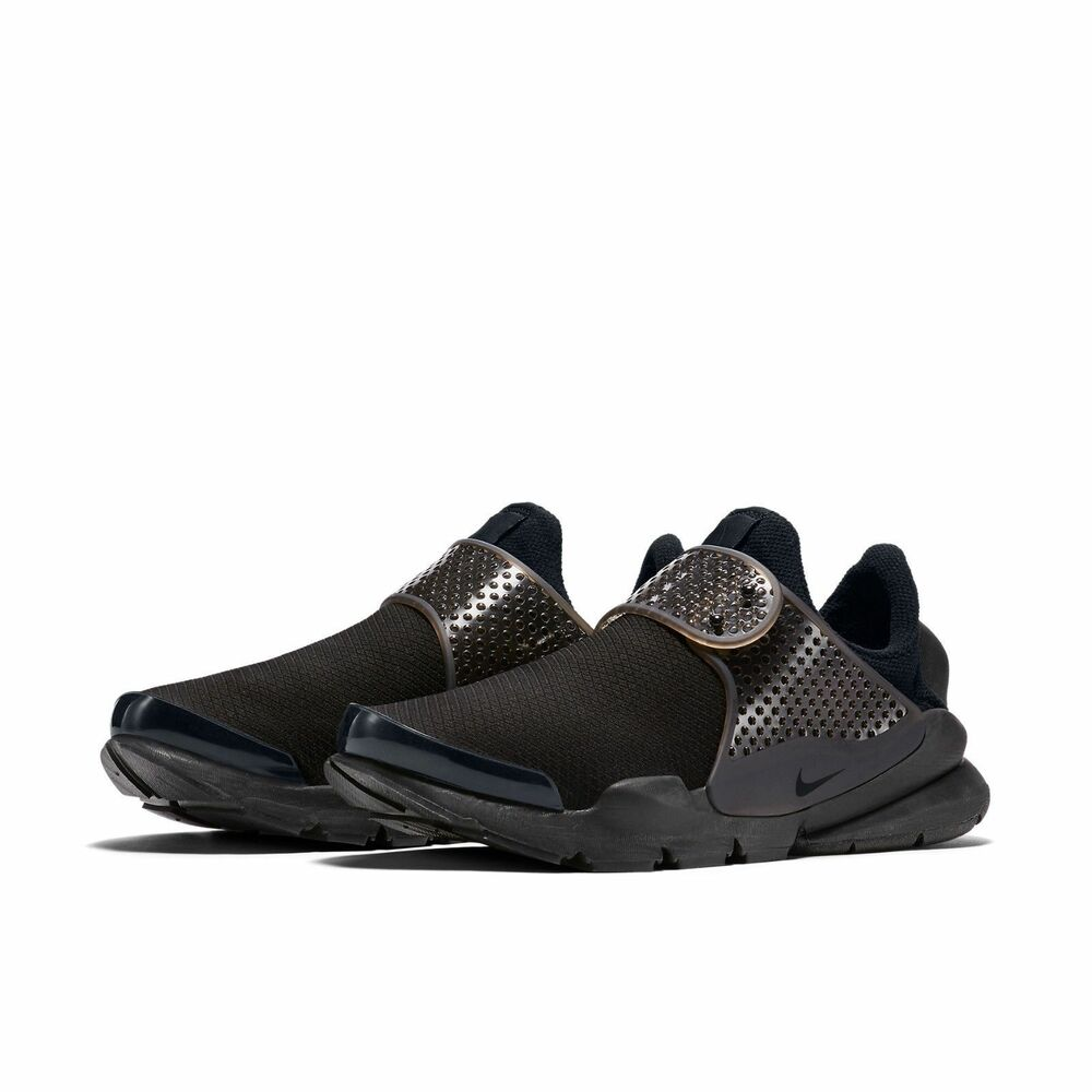 new style 21652 b14ed Details about Nike WOMEN S Sock Dart Black Volt SIZE 6 BRAND NEW All Day  Comfort