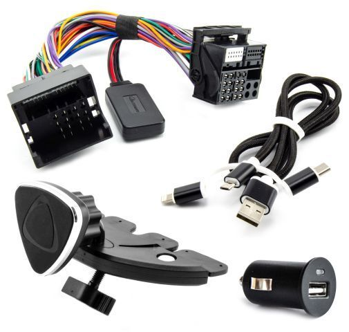 bluetooth aux adapter set ford fiesta focus mondeo kuga. Black Bedroom Furniture Sets. Home Design Ideas