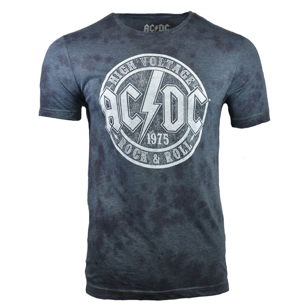 Details about AC DC Mens Tee T Shirt ACDC ROCK ROLL Band Back Vintage  Graphic S 1975 Tour NEW 6dc0e5723cfe9