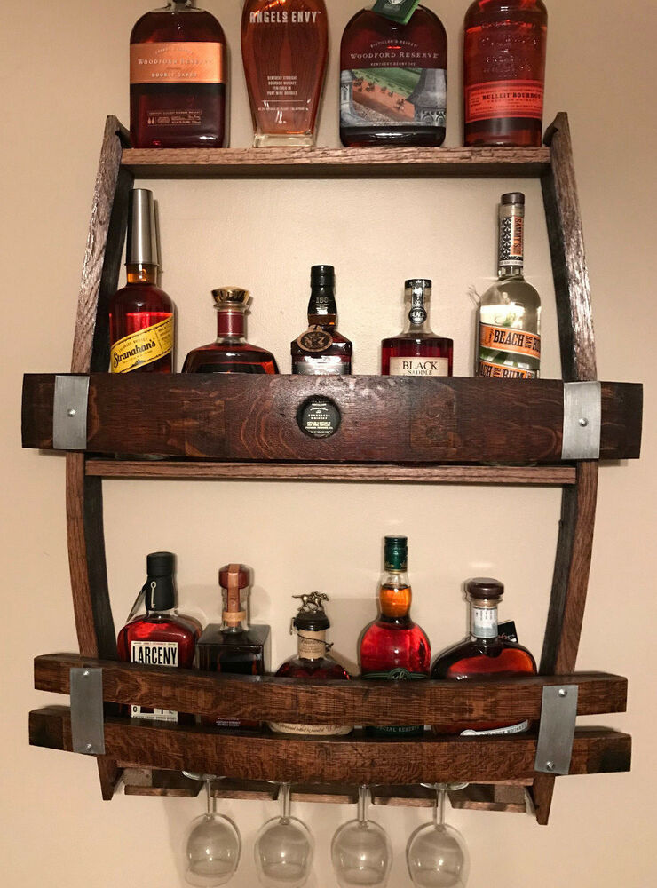 Whiskey Wine Barrel Wine Rack Ebay