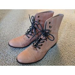Urban Outfitters Women's Brown Kimchi Blue Roper Laceup Boots