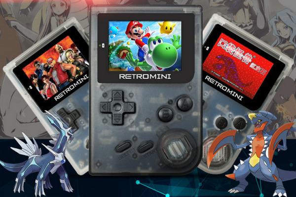32 Bit Portable Retro Game Console Mini Handheld Built-in GBA Games Game Players