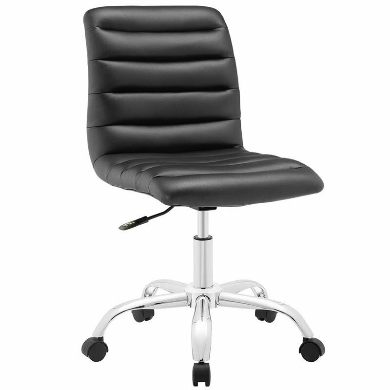 Hawthorne Collection Mid Back Armless Swivel Office Chair ...