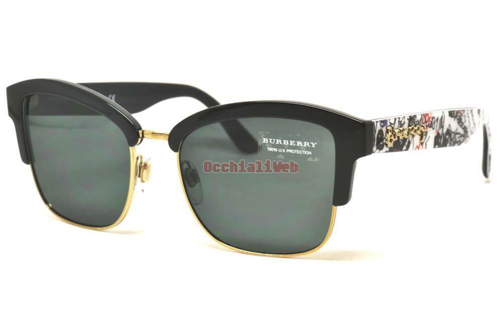 37962104d54 Details about Burberry B 4265 DOODLE COLLECTION Col.3723 87 Cal.54 New  SUNGLASSES