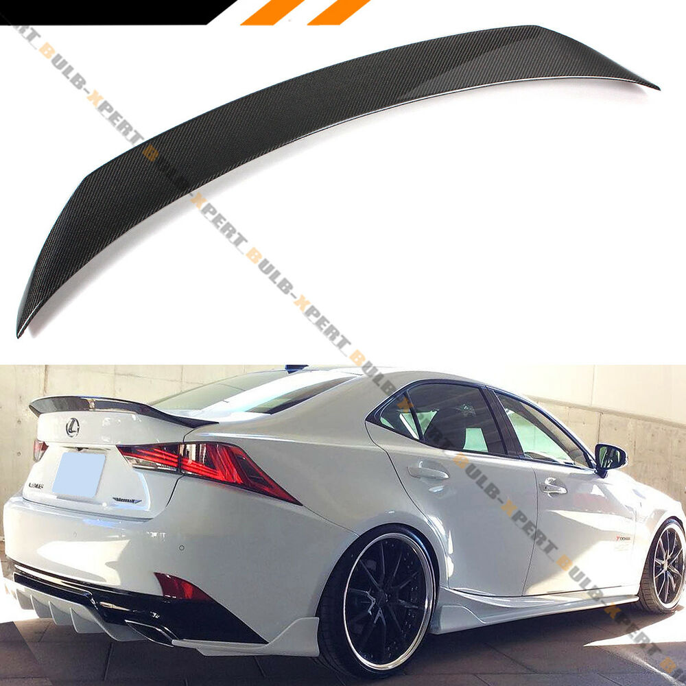 For 2014 2018 Lexus Is200t Is250 Is350 Ar Style Carbon Fiber Trunk