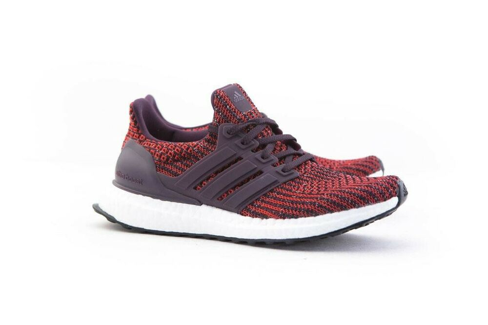 75d6a727f3b Adidas Big Kids UltraBOOST J red noble red core black DB1429