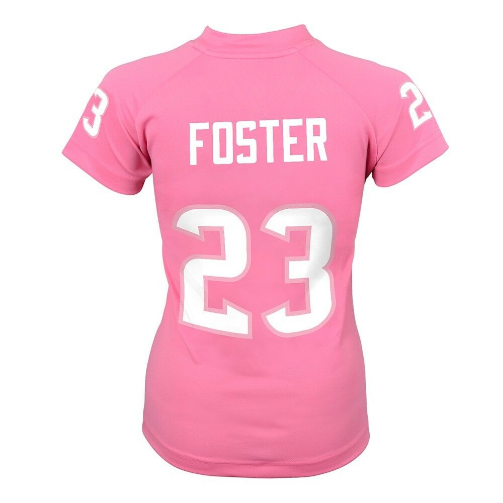 Details about Arian Foster NFL Houston Texans Pink Fashion Bubble Gum Jersey  Girls Youth S-XL 73e7bf503c9c