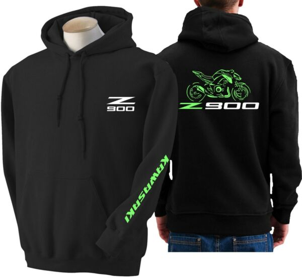 Felpa moto Kawasaki z900 hoodie sweatshirt bike z 900 hoody Hooded sweater