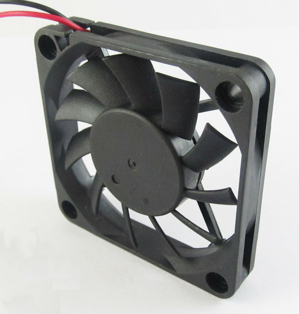 1pc Brushless DC Cooling Fan 60x60x10mm 6010 11 blades 24V 0.15A 2pin Connector