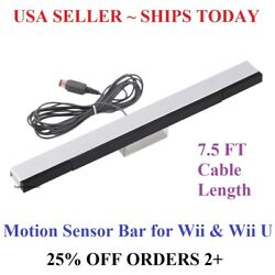 Kyпить Wired Infrared Sensor Bar for Nintendo Wii Wii U Remote USA Seller  на еВаy.соm