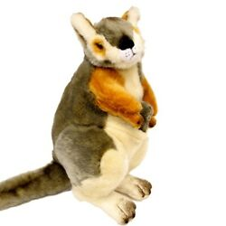 Wattle the Rock Wallaby with Joey Soft Plush Toy 12