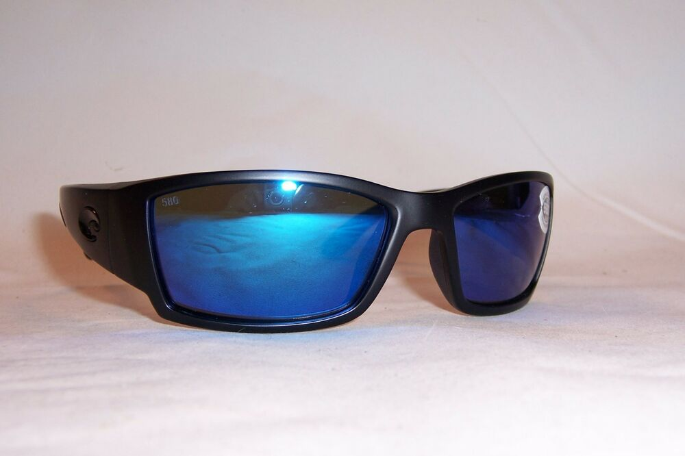 6dc948aea87f Details about NEW COSTA DEL MAR CORBINA SUNGLASSES BLACKOUT BLUE MIRROR 580G   249 AUTHENTIC
