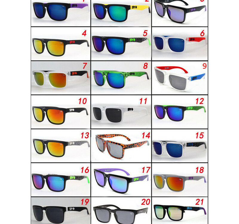 c99d385e7c Details about Stylish SPY1 22 Colors Ken Block Cycling Outdoor Sports  Sunglasses Shades UV400