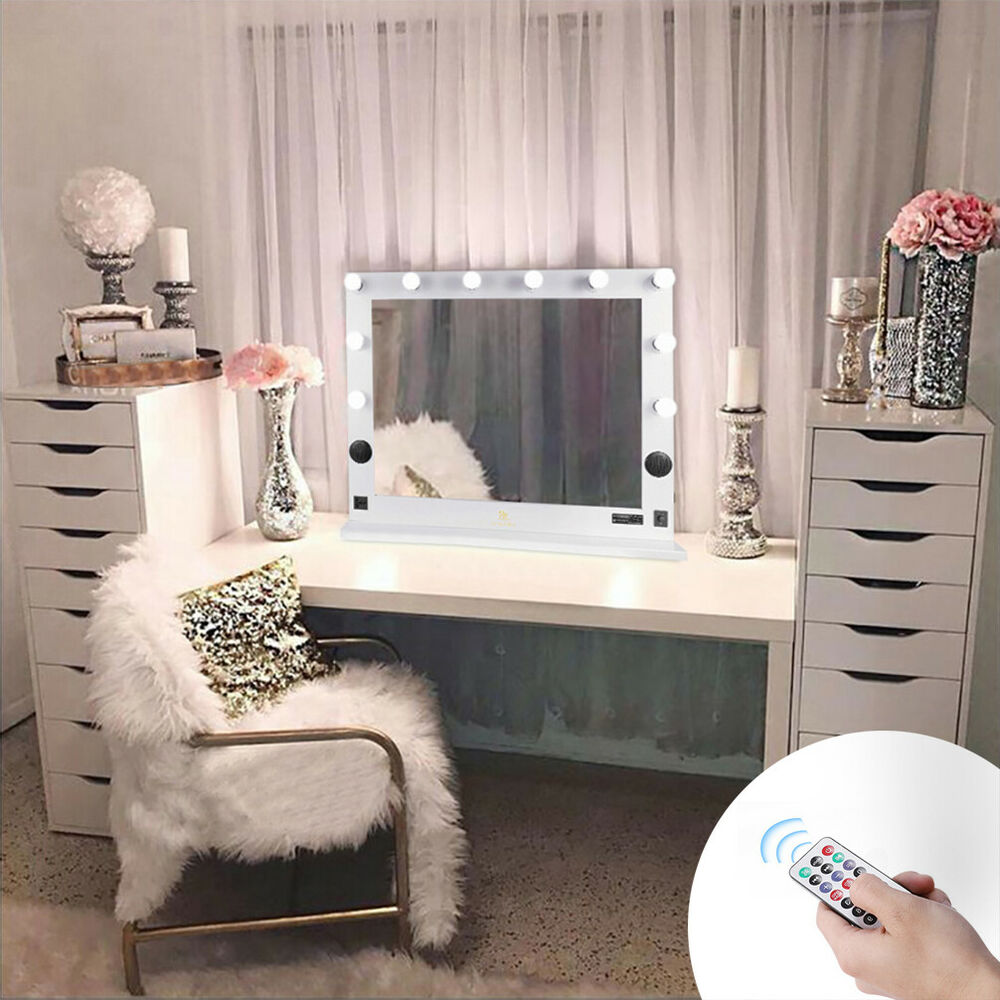 LUVODI Hollywood Vanity Makeup Mirrors Carry LED Lights ...