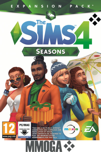 The Sims 4 Stagioni - EA Origin Codice digitale download PC MAC Espansione - IT