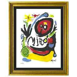 Kyпить Joan Miro Signed & Hand-Numbered Ltd Ed