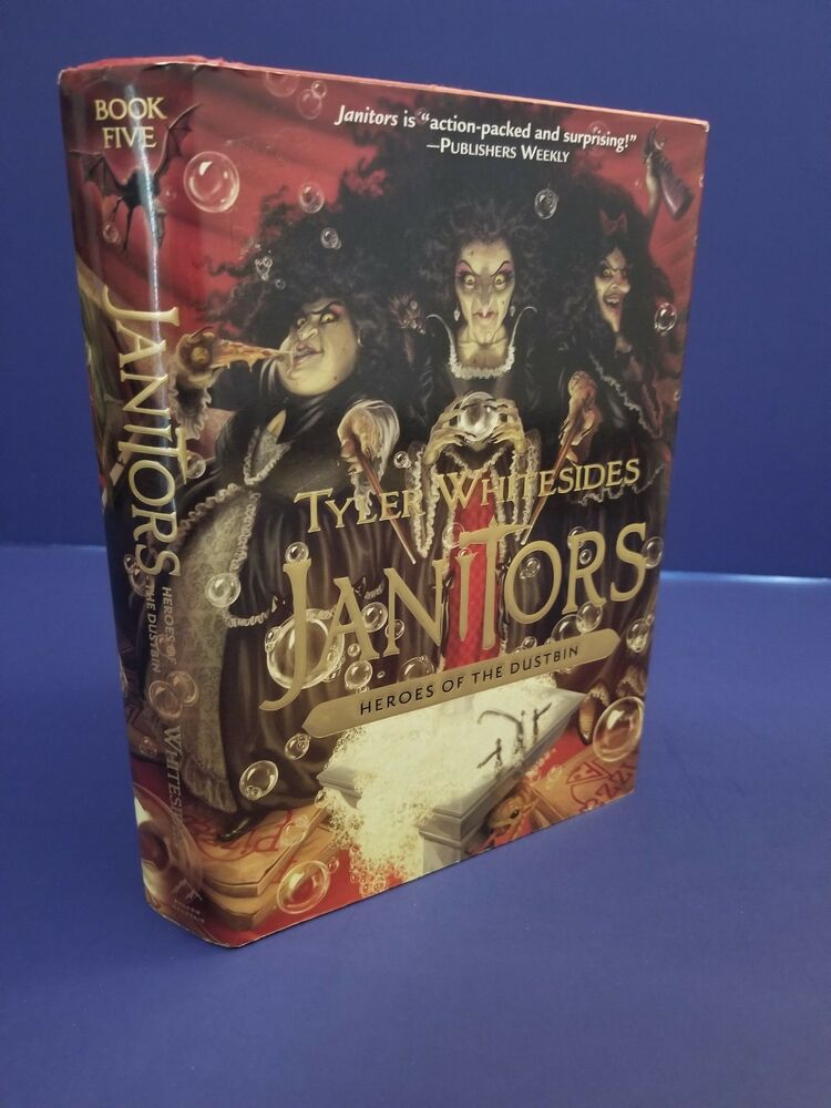 Janitors Heroes Of The Dustbin Book 5 By Tyler Whitesides 2015 1st