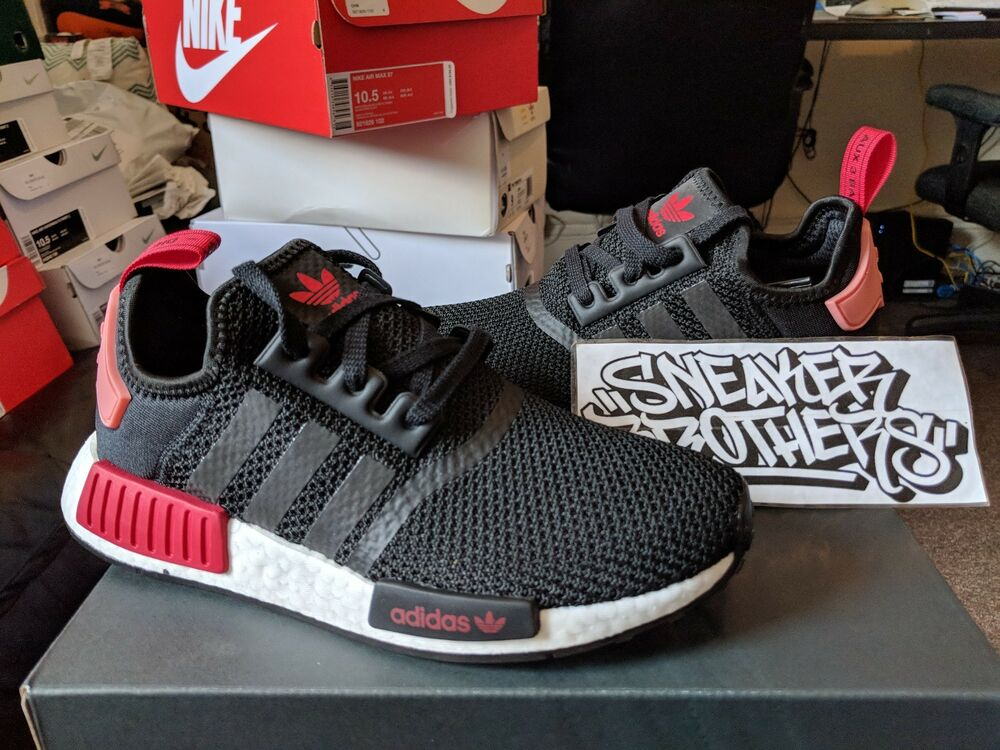 Scarlet W Women's r1 Black Nmd Nomad Tactile Red Adidas Rose Runner qMVSUzp