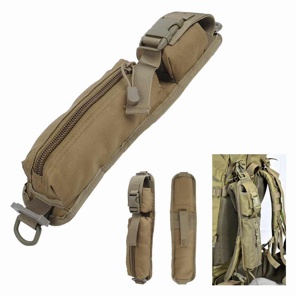 Outdoor Tactical Backpack Shoulder Strap Bag Pouch Molle Supplies Hunting Tools