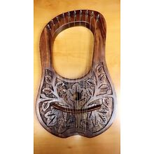 New LYRE HARP 10 METAL STRINGS WITH FREE KEY AND BAG + String Set  Black Friday