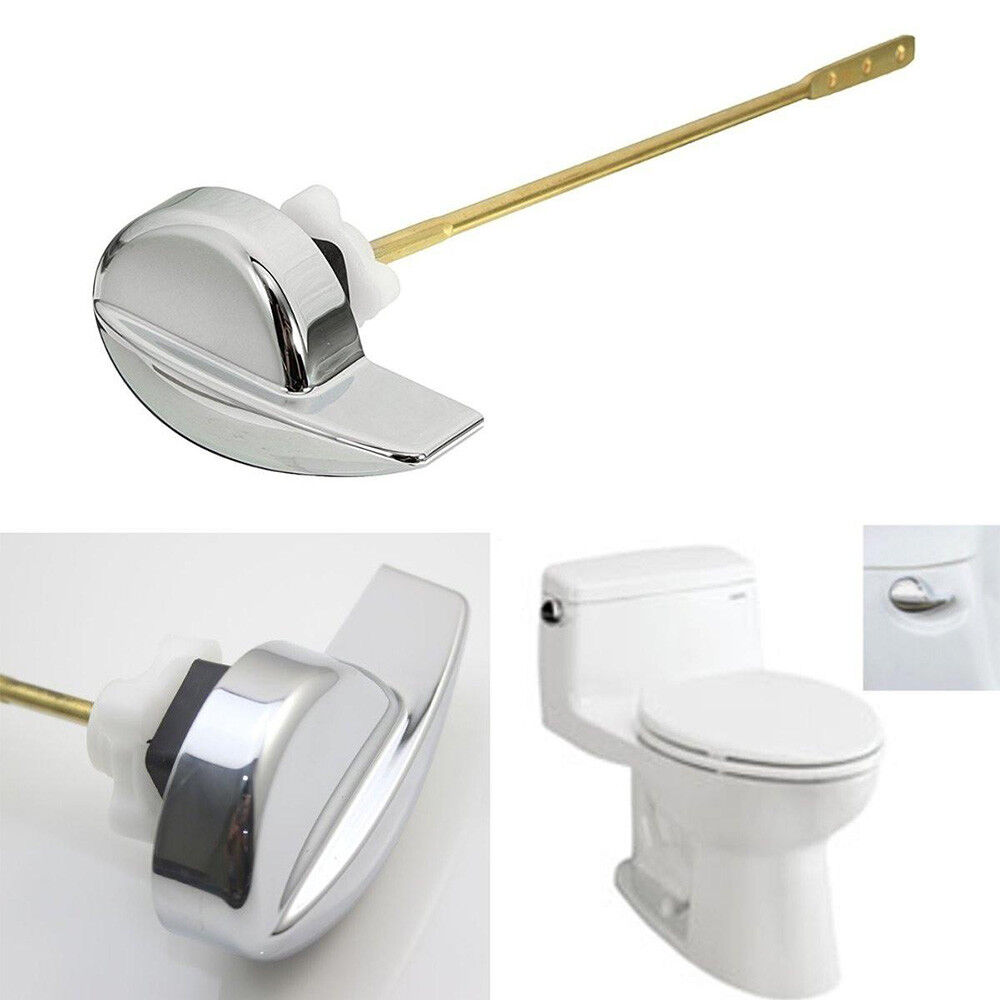 Deluxe Side Mount Toilet Tank Flush Lever Brass Handle For Toto ...