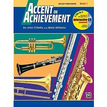 ALFRED ACCENT ON ACHIEVEMENT - Mallet Percussion - Book 1  w/CD