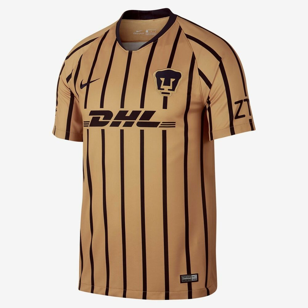 Nike Pumas UNAM Official 2018 2019 Away Soccer Football Jersey  dd4c2fc15bf19