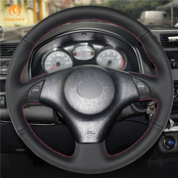 Details About Leather Steering Wheel Cover For Toyota Rav4 Corolla Lexus Is200 Is300 Fz22
