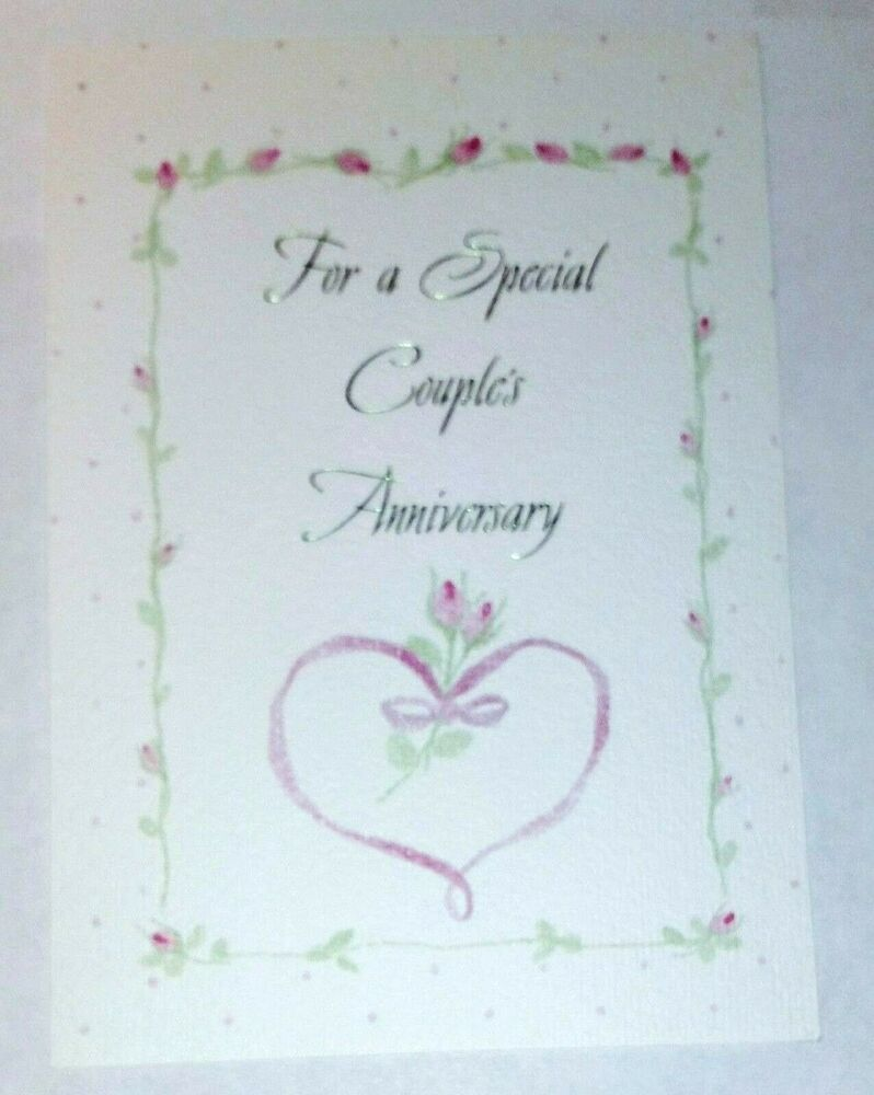 1 Anniversary Greeting Cardenvelope Special Couple Happy Love Joy