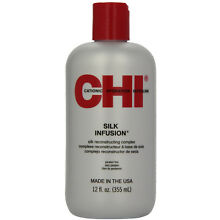 CHI Silk Infusion Silk Reconstructive Complex 12 Oz - Made in the USA FRESH NEW