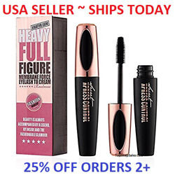 Kyпить 4D Silk Fiber Eyelash Mascara Extension Makeup Black Waterproof Eye Lashes USA на еВаy.соm